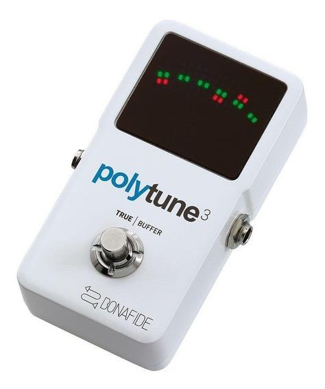Pedal Afinador Tc Electronic Polytune 3 Polifônico/cromático