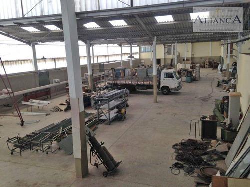 Imagem 1 de 18 de Galpão À Venda, 2400 M² Por R$ 10.600mil - Batistini - São Bernardo Do Campo/sp - Ga0020