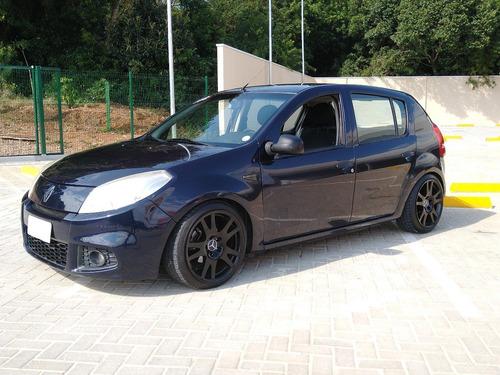 Imagem 1 de 13 de Renault Sandero 2012 1.0 16v Authentique Hi-flex 5p