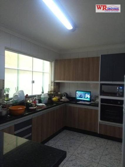 Casa Com 3 Dormitórios À Venda, 160 M² Por R$ 390.000 - Jardim Las Vegas - Santo André/sp - Ca0362