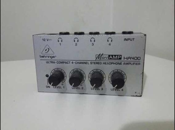 Amplificador De Fones Behringer Ha-400