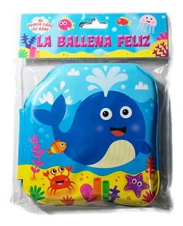 Libro Sumergible La Ballena Feliz P/agua Bebes Educando