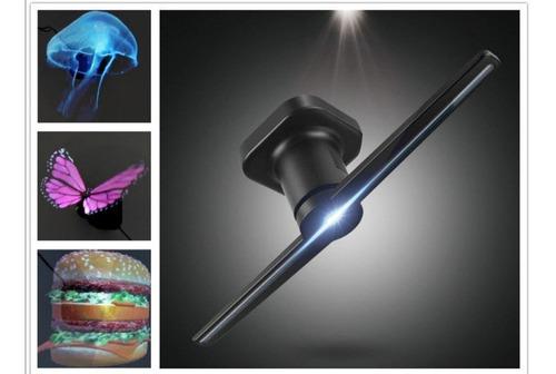 Ventilador De Hologramas 3d Publicidad Para Tu Negocio (120)