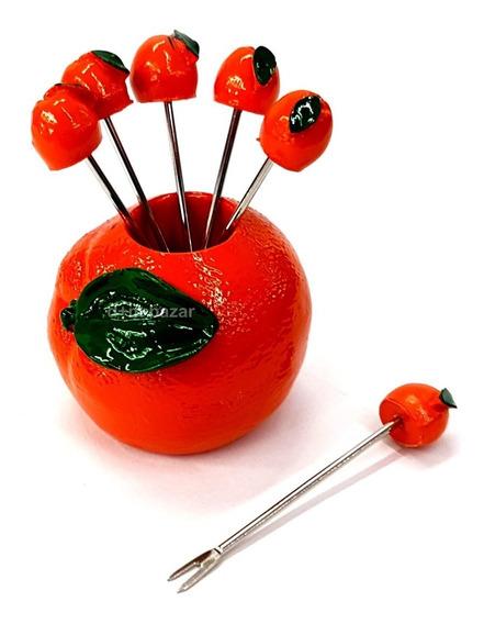 Pinches Para Copetin Naranja D+m Bazar