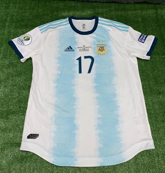 Camiseta De Argentina 2019 Copa America Utileria Otamendi