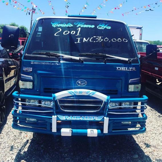 Super Oferta Camion Daihatsu Delta 2001 Cama Cortta 100%
