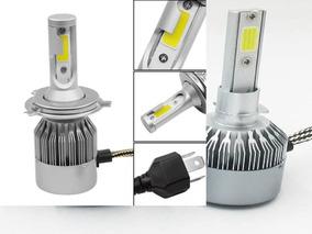 Kit Lampada Led Automotivo 72w 6000k 7200lumens Super Branca