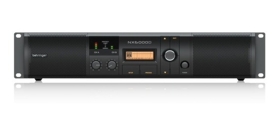 Amplificador De Potencia - Nx6000d - Behringer