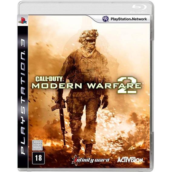 Call Of Duty Modern Warfare 2 Ps3 Original Novo Lacrado
