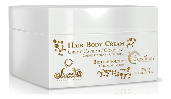 Sweet Cronology Hair Body Cream Máscara De Tratamento 150g