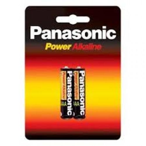 pilha Alcalina Aaa C/ 02 Uni - Panasonic