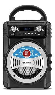 Parlante Portatil Karaoke Mondial 30w Bluetooth Usb Sd Fm