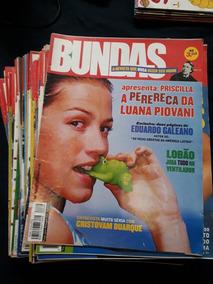 Lote Revista Bundas 45 Itens