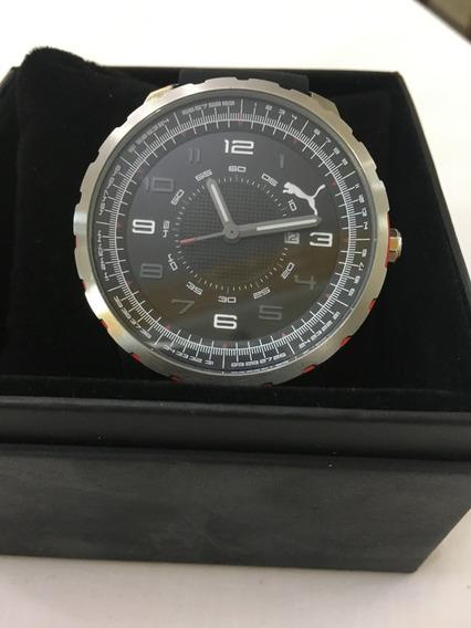 Relógio De Pulso Puma 96203 Preto Masculino 5atm Original