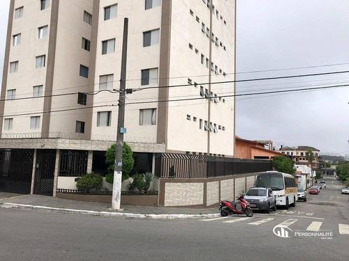 Apartamento Com 2 Dormitórios Para Alugar, 54 M² Por R$ 1.540,00/mês - Jardim Tamoio - Diadema/sp - Ap0589
