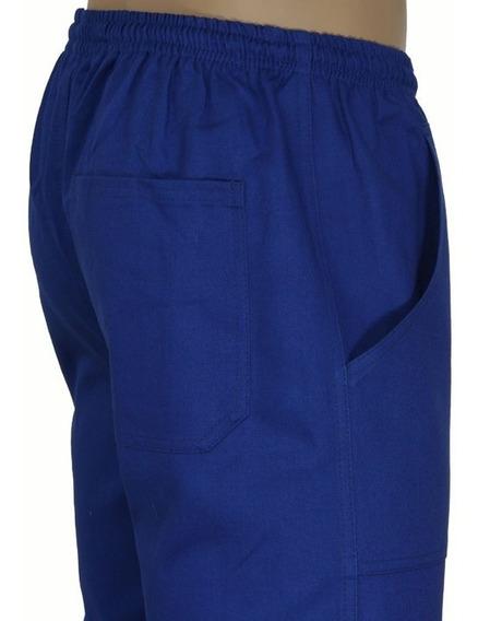 Calça Brim Azul Ou Cinza Uniforme Profissional Dgmaster