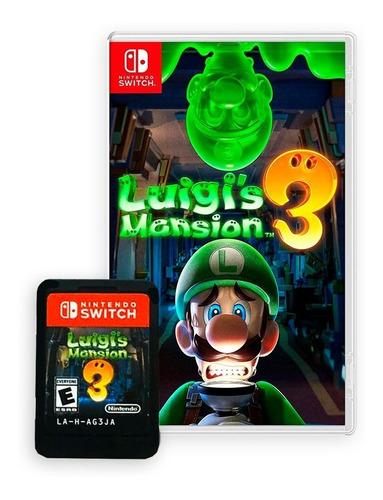 Imagen 1 de 4 de Luigi's Mansion 3 - Juego Físico Nintendo Switch En Español