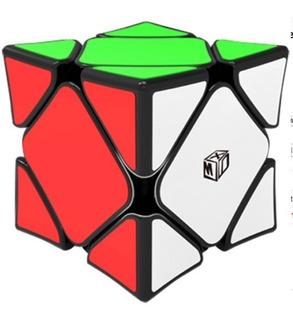 Cubo Rubik Qiyi Skewb Xmd Concave Wingy Magnetico Negro