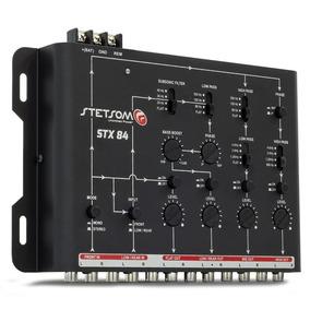 Crossover Eletrônico Stx84 - 4 Vias Stetsom