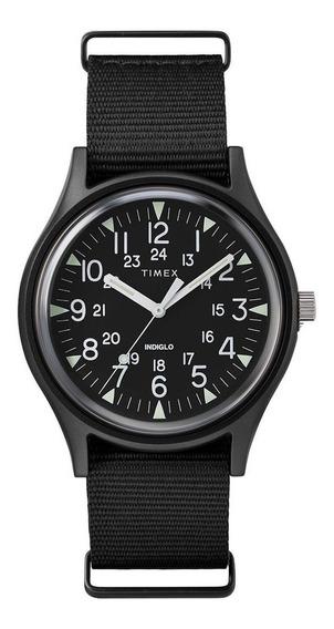 Reloj Timex Camper Tw2r37400 Aluminio Negro Para Caballero
