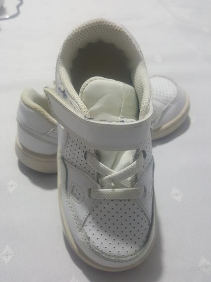 Zapatilla Nike Blanca Para Niño