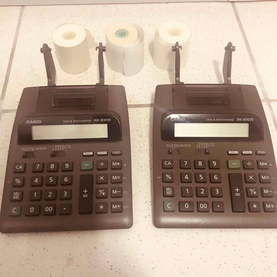 Calculadora De Mesa Casio Hr100te