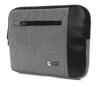 Funda Tablet Notebook Zom 10 Tela Afelpada Cierre Zf10 200j