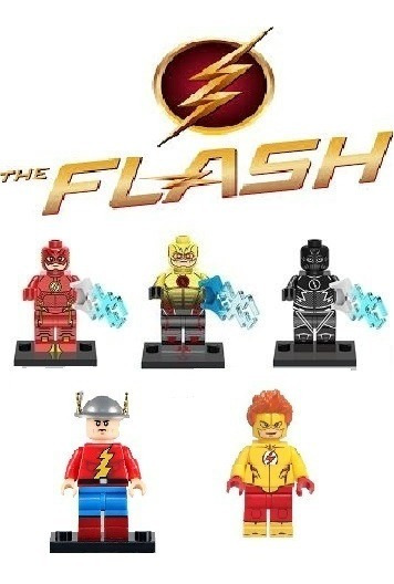 Jay Garrick Barry Allen Kid Flash Zoom Flash Reverso