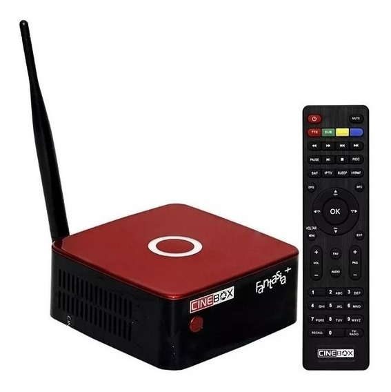 Stv-2000-receptor Smartem Tv Box Aquario 6k Android Nougt