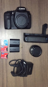Canon 7d, Com Acessórios