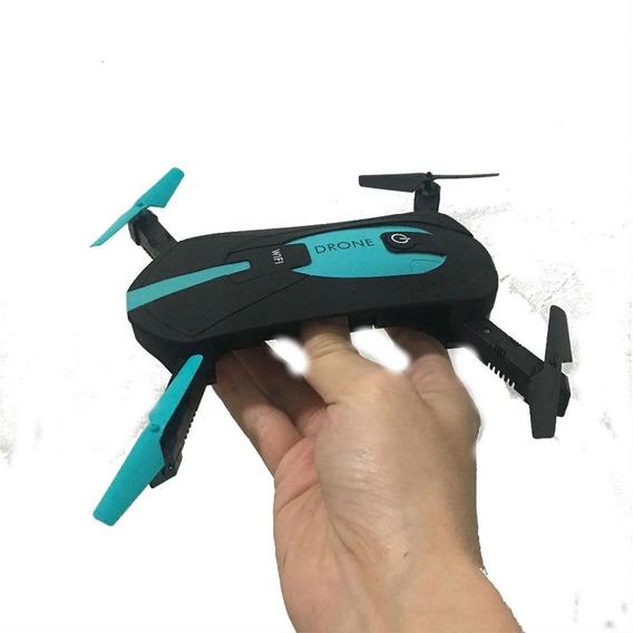 Drone Jy018 Câmera 720p 200w Wifi + Controle Fone Incluso.