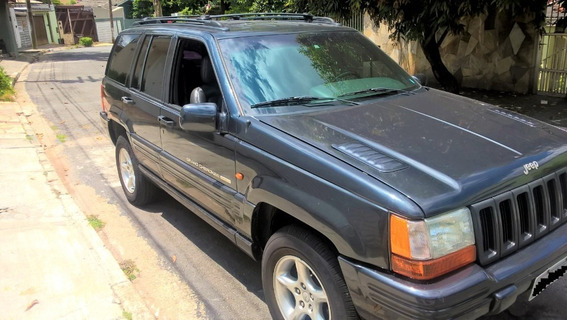 A Máquina Grand Cherokee 1998 5.9 - Raridade!