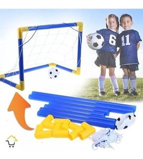 Cancha Fútbol Portable Niños Cancha + Balón + Maya Grande 60