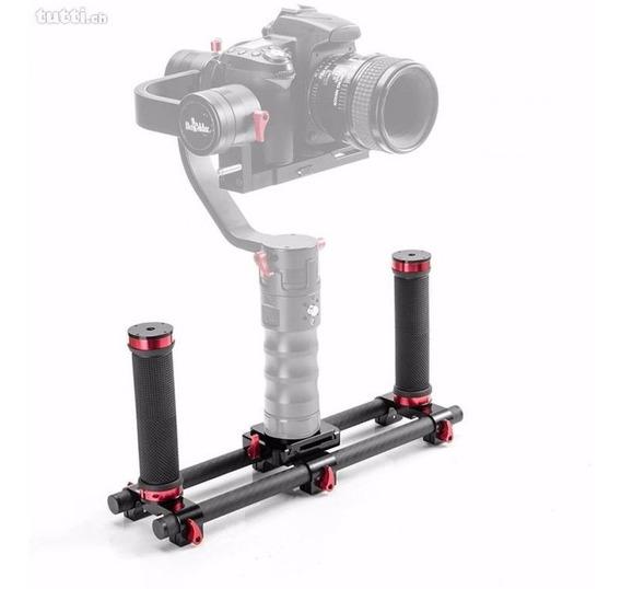 Suporte Duplo P/ Camera Gimbal Pilotfly Beholder Osmo Nebula