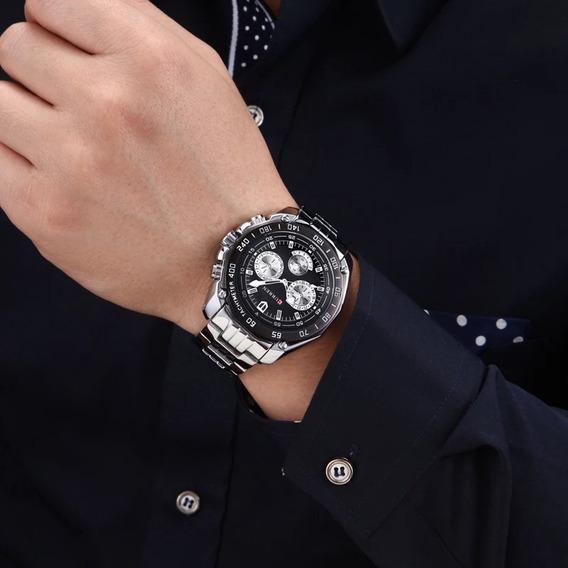 Relógio Curren Masculino Luxo M2