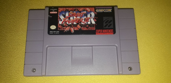 Super Street Fighter 2 - Snes - Original Em Bom Estado