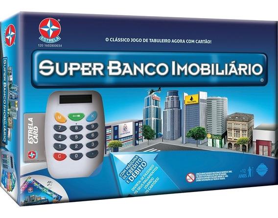 Jogo Super Banco Imobiliario Da Estrela - Bonellihq B19