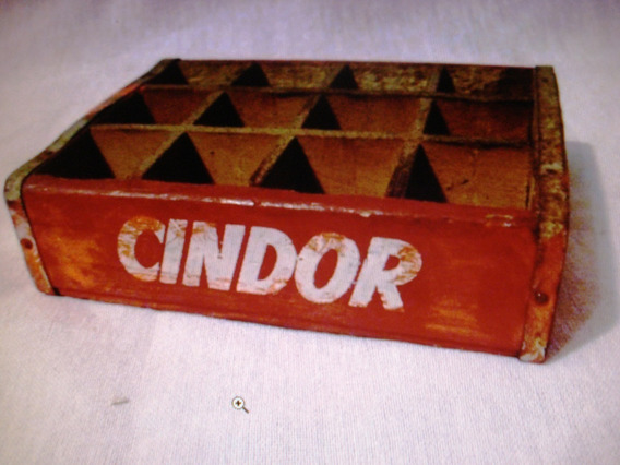 Coleccionable- Miniatura- Cajón Antiguo De Leche Cindor