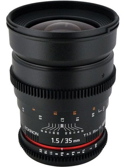 Lente Rokinon 35mm T1.5 P/ Nikon
