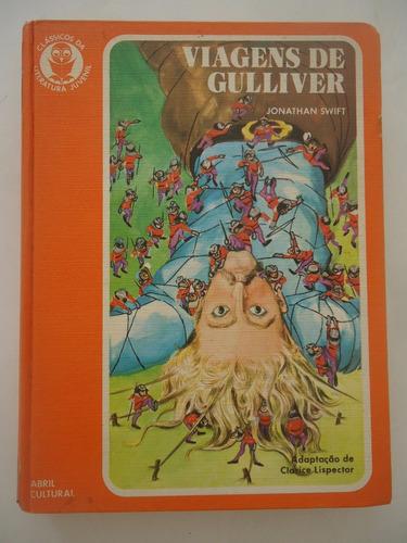 Viagens De Gulliver  Jonathan Swift Clássicos Da Literatura