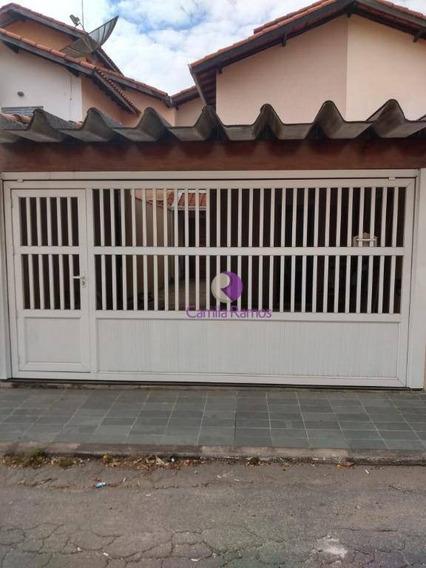 Sobrado, 02 Dormitórios, C/ Churrasqueira À Venda, 154 M²- Vila Figueira - Suzano - So0403