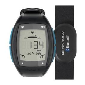 Relógio E Cinta Cardio Bluetooth Onrhythm 500 Azul Oficial
