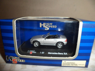 High Speed 1/87 Mercedes-benz Slk Novo