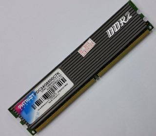 Memoria Ddr2 4gb (2 De 2gb) Patriot Pc Dual Channel 667mhz