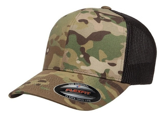 Gorra Flexfit 6511mc Green / Black