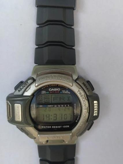 Relógio Casio Relíquia Prt-600 Triple Sensor