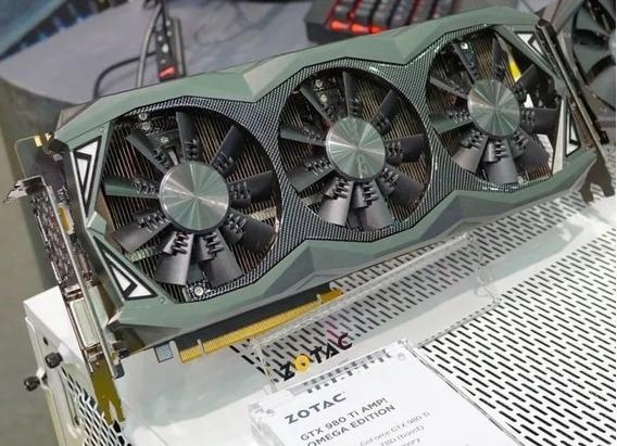Gtx 980 Ti Zotac Completa Melhor Q 1050/1070/1060/rx 580