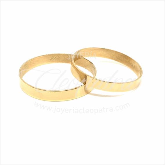 Alianzas Oro 18kt 2gr Compromiso Casamiento Cinta