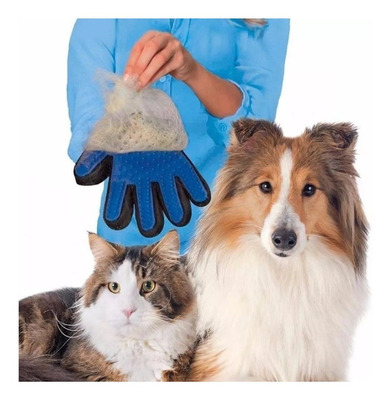 Luva Nano Magnética Tira Pelos Pets Cães Gatos - Promoção