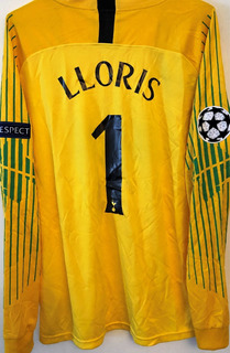 Camisa Do Tottenham Lloris #1 Champions League 2019